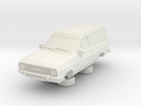 1-64 Escort Mk 2 2 Door Van Round Head Lights in White Natural Versatile Plastic