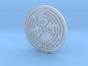 The Maze (Westworld) in Smooth Fine Detail Plastic