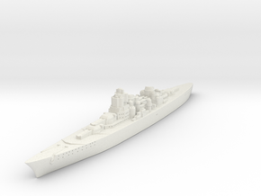 O-class German Battlecruiser (GW36 Scale) in White Natural Versatile Plastic