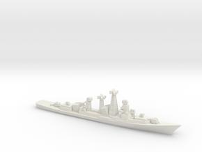 Kashin-class destroyer (1962), 1/2400 in White Natural Versatile Plastic