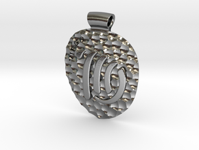Virgo Pendant in Polished Silver