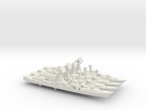 Kara Class evolution pack, 4 pc, 1/1800 in White Natural Versatile Plastic