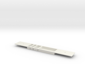 S stock Centre Carriage chassis in White Natural Versatile Plastic
