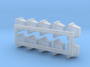 1-64 Halogen HeadsX10 in Smooth Fine Detail Plastic