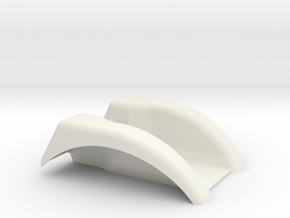 Super Stock Tractor fender, Innovative in White Strong & Flexible