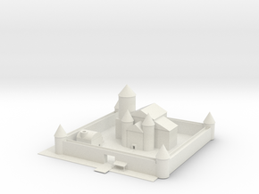 Castle in White Strong & Flexible