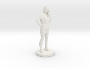 Printle C Femme 071- 1/56 in White Strong & Flexible