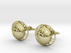 Bilbo's acorn cufflinks in 18k Gold