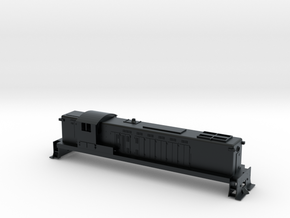 N scale Baldwin DRS 4-4-1500 in Black Hi-Def Acrylate