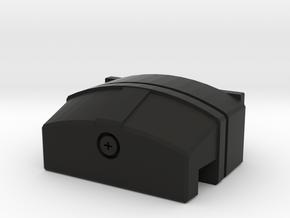 Licence plate light LED housing D90 D110 Team Raff in Black Natural Versatile Plastic