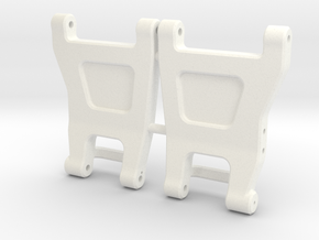 RC10 B6 Rear Hub Arms in White Processed Versatile Plastic
