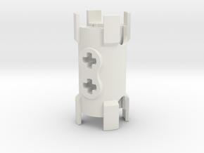 2x11 Kombinierer V2 in White Natural Versatile Plastic