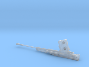 1/35 IJN type 96 25mm cannon in Smooth Fine Detail Plastic