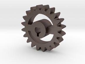 Foxic Antweight Gear in Polished Bronzed Silver Steel