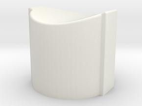 SPRING CAP.1 in White Strong & Flexible