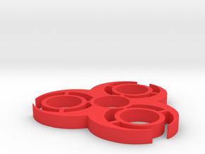 Bio hazard spinner in Red Processed Versatile Plastic