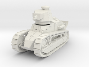 PV12 M1917 Six Ton Tank (37mm Cannon) (1/48) in White Natural Versatile Plastic