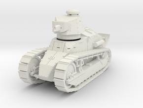 PV12 M1917 Six Ton Tank (37mm Cannon) (1/48) in White Natural Versatile Plastic
