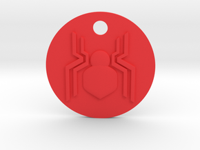 Spider-Man Homecoming 3D Keychain in Red Processed Versatile Plastic