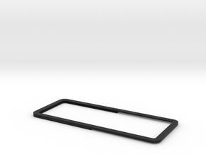Open Rear Side Window Right D90 D110 Team Raffee 2 in Black Natural Versatile Plastic