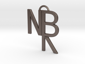 NBR Logo in Stainless Steel