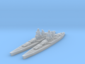 Richelieu class battleship in Frosted Ultra Detail