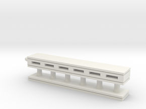 Palikka2 in White Natural Versatile Plastic