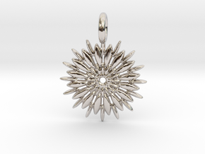 Jasmine Sambac is extraordinary in Rhodium Plated Brass