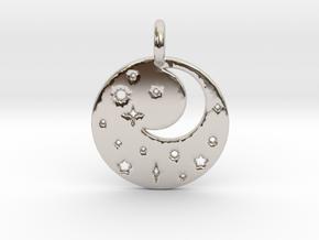 Starry Night Pendant in Platinum