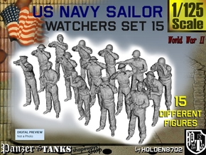1-125 US Navy Watchers Set15 in Frosted Ultra Detail