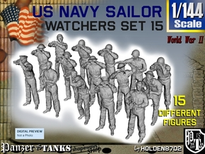 1-144 US Navy Watchers Set15 in Frosted Ultra Detail