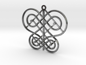 Petaloutha-L in Polished Silver: Large