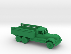 1/200 Scale Diamond T Engineering Truck in Green Strong & Flexible Polished