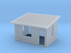 HO NSWGR Platform Signal Box - Right Hand Door in Smooth Fine Detail Plastic
