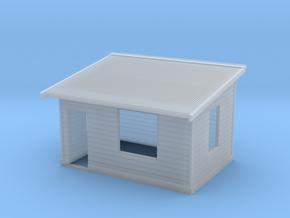 HO NSWGR Platform Signal Box - Left Hand Door in Smooth Fine Detail Plastic