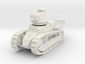 PV151A M1917A1 Six Ton Tank w/MG (28mm) in White Natural Versatile Plastic