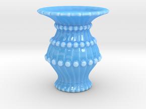Vase DD in Gloss Blue Porcelain