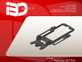 Chasis para Porsche 917 FLY in White Natural Versatile Plastic