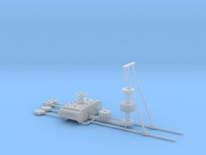 Ankerlier Onderdelen FUD in Smooth Fine Detail Plastic: 1:35