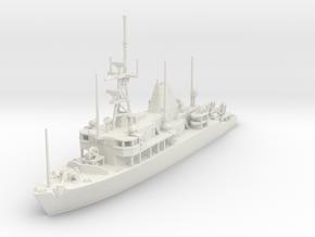 1/350 Avenger Class Minesweeper MCM USN in White Natural Versatile Plastic
