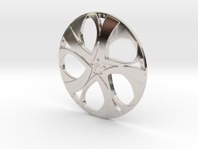 Wheel in Platinum