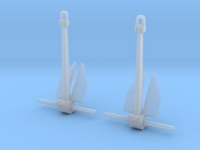 1/192 Anchors, Destroyer (5000 lbs.) v2 in Smoothest Fine Detail Plastic