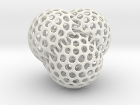 4 intersecting spheres in White Strong & Flexible