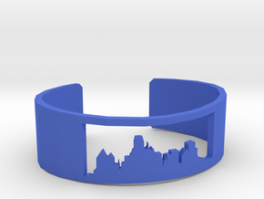 Dallas Skyline Bracelet in Blue Strong & Flexible Polished