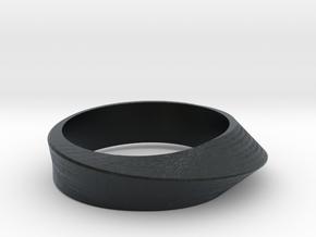 Ring Moebius in Black Hi-Def Acrylate: 8 / 56.75
