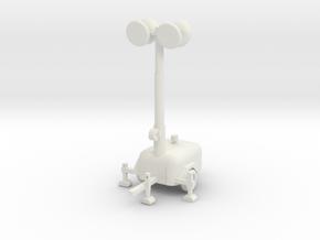 Light Generator Pole  in White Natural Versatile Plastic
