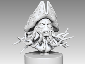Davy Jones in White Natural Versatile Plastic