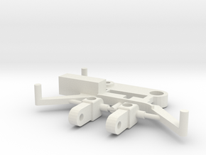 SP6 Spare Parts for CK6 Chassis Kit in White Strong & Flexible