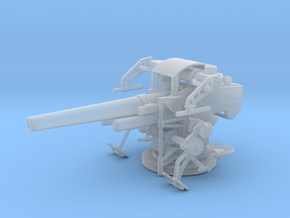 1/87 USN 5 inch 25 Cal. GUN MOUNT MARK 40 in Frosted Ultra Detail