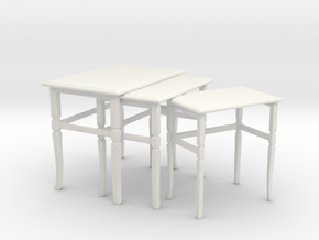 Printle Thing Table 02 1/24 in White Strong & Flexible